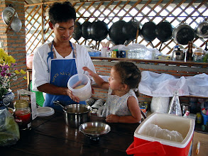 Photo: Cooking school in Thailand