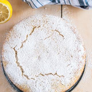 Lemon and Lavender Semolina Cake