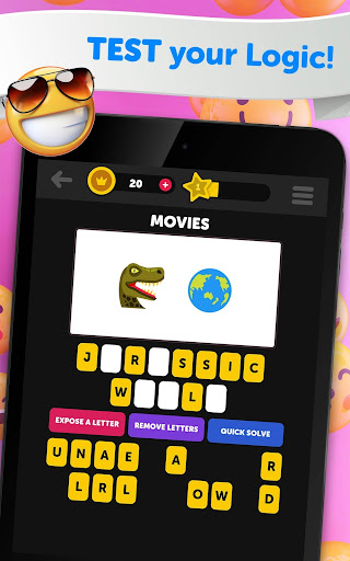 Guess The Emoji - Trivia and Guessing Game! 9.39 Screenshots 12