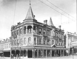 Miller's Corner Date 1904.