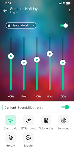 Music player & Video player with equalizer 1.1.2 Screenshots 6