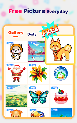 Pix123 - Color by Number, Pixel Art Relaxing Paint apkmr screenshots 12