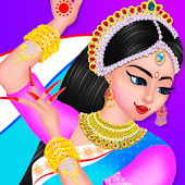 Indian Doll Makeup And Dressup