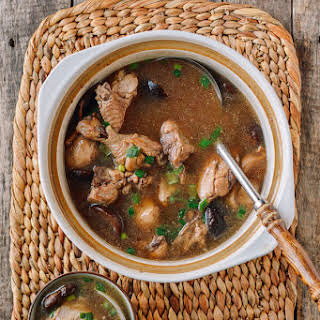 Chinese Chicken Mushroom Soup Recipes.