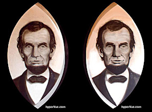 Photo: Abe Lincoln: two faces of