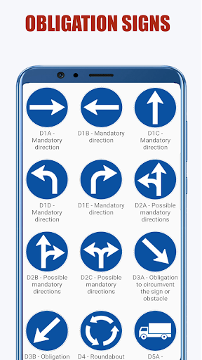 Traffic Signs: Road signs and meanings  screenshots 6