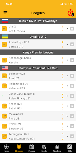 Live Soccer Scores 2.1.0 screenshots 2