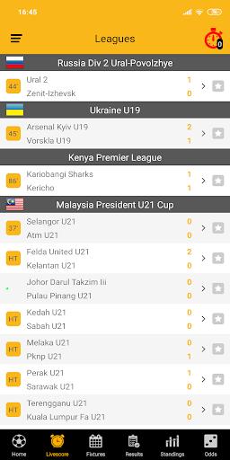 Live Soccer Scores 1.9 screenshots 2