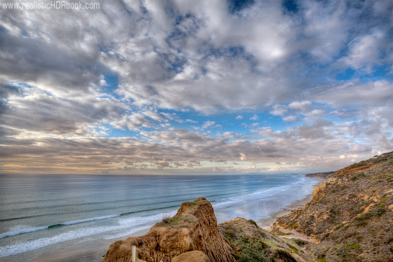 Photo: Torrey Pine park in San Diego, CA. One of the most beautiful places we visited in California.  3 RAW exposures, blended in Photomatix and finished in Photoshop. Canon 5dmk2 + 17-40mm F4.0L at 17mm. Not a fisheye, he-he:-)