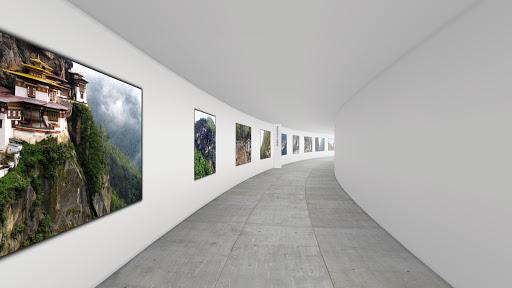 VR Hallway: Cardboard Gallery