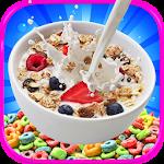 Kids Cereal Maker - Candy & Dessert Cereal Games Icon