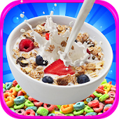 Kids Cereal Maker - Candy & Dessert Cereal Games