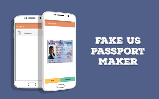 Download Fake US Passport ID Maker Google Play softwares