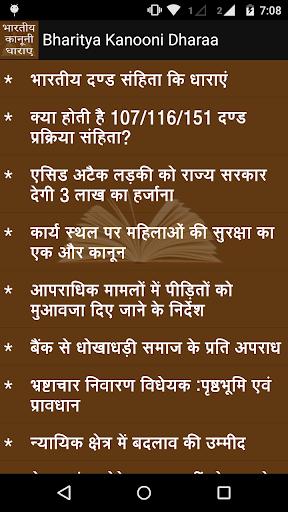 Bhartiya Kanooni Dharaa