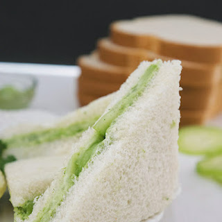 Tea Time Cucumber Sandwich