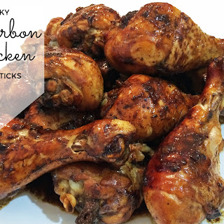 Sticky Bourbon Chicken Drumsticks