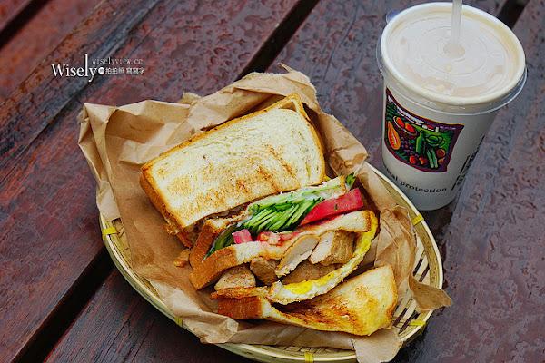 阿姐的店碳烤三明治@光華商場裡大份量平價外帶輕食
