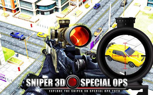 Code Triche New Sniper Shooting 2020 u2013 Shooting Games Free APK MOD screenshots 4