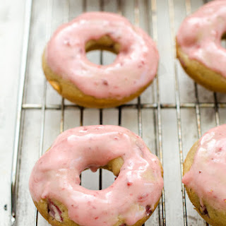 Strawberry Shortcake Baked Donuts Recipe