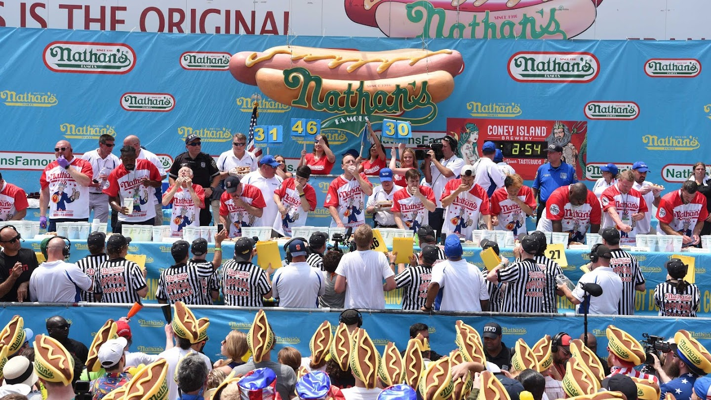 Watch 2020 Nathan's Famous Hot Dog Eating Contest live