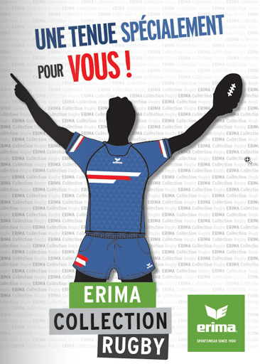 Catalogue Rugby Erima sport collectif