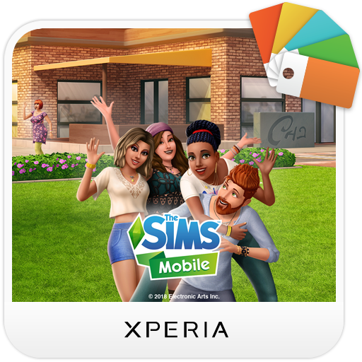 XPERIA™ The Sims Mobile Theme