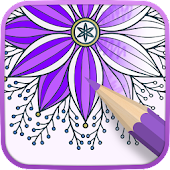Mandala coloring game