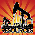 RESOURCES GAME - A GPS MMO Tycoon / Economy Game icon