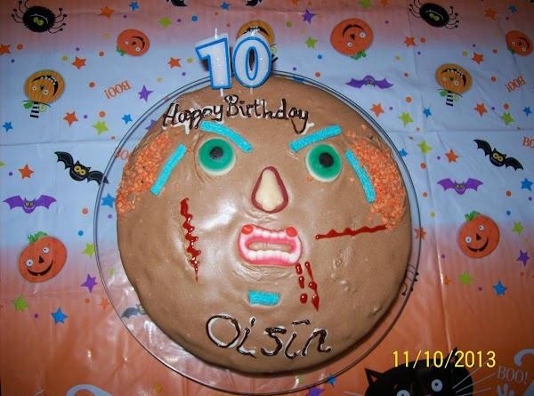 Scary Halloween Cake Recipe