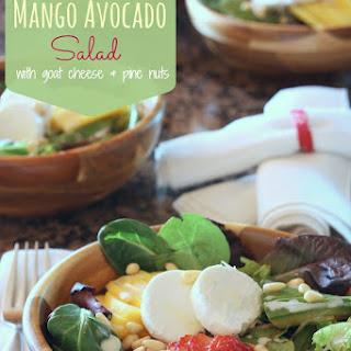 Strawberry Mango Avocado Salad