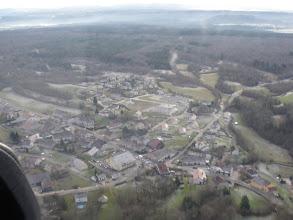 Photo: La rochère vue d'avion coté nord le 26/12/2009
