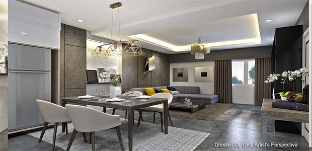 Gold Residences, Paranaque dining area