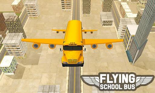 Flying School Bus Sim 2017 1.0.3 screenshots 5
