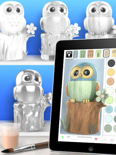 ColorMinis - Color & Create real 3D art  screenshots 2