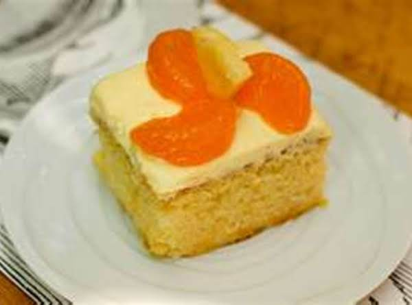 Pineapple Orange Cake Recipe