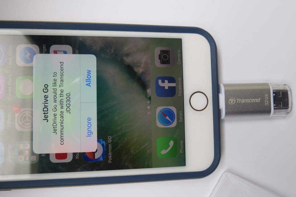 Đánh giá USB Lightning 3.1 - JetDrive Go 300S 32GB - 163517