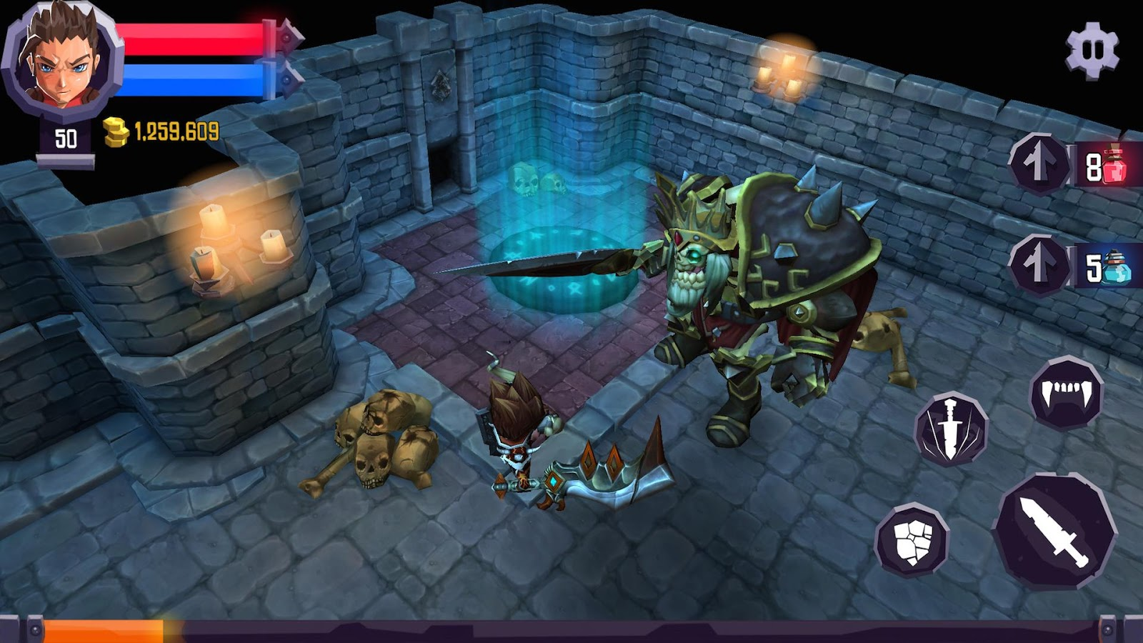%name Heroes Curse v2.0.6 MEGA MOD APK + DATA