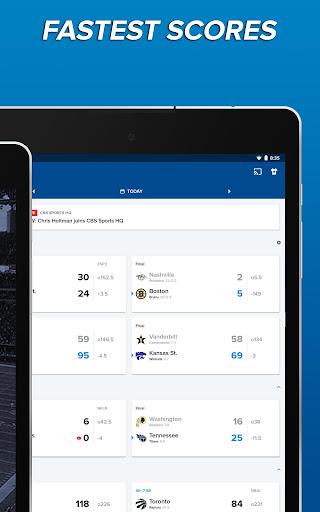CBS Sports App - Scores, News, Stats & Watch Live 9.9.1 screenshots 9