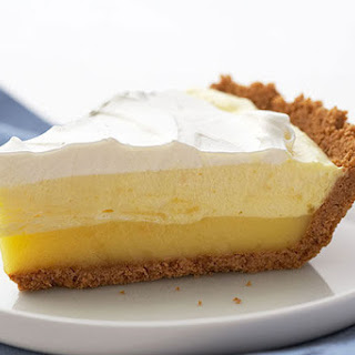 Triple-Layer Lemon Pie.