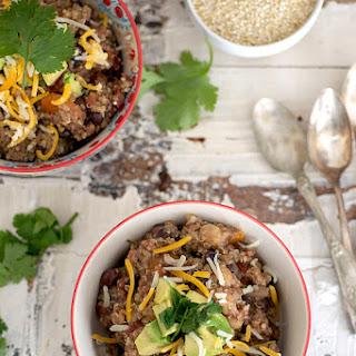 Slow Cooker Quinoa Chili