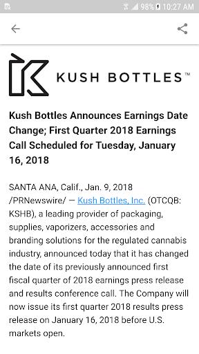 New Cannabis Ventures screenshot 4