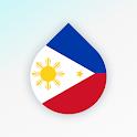 Drops: Learn Tagalog (Filipino) language for free icon