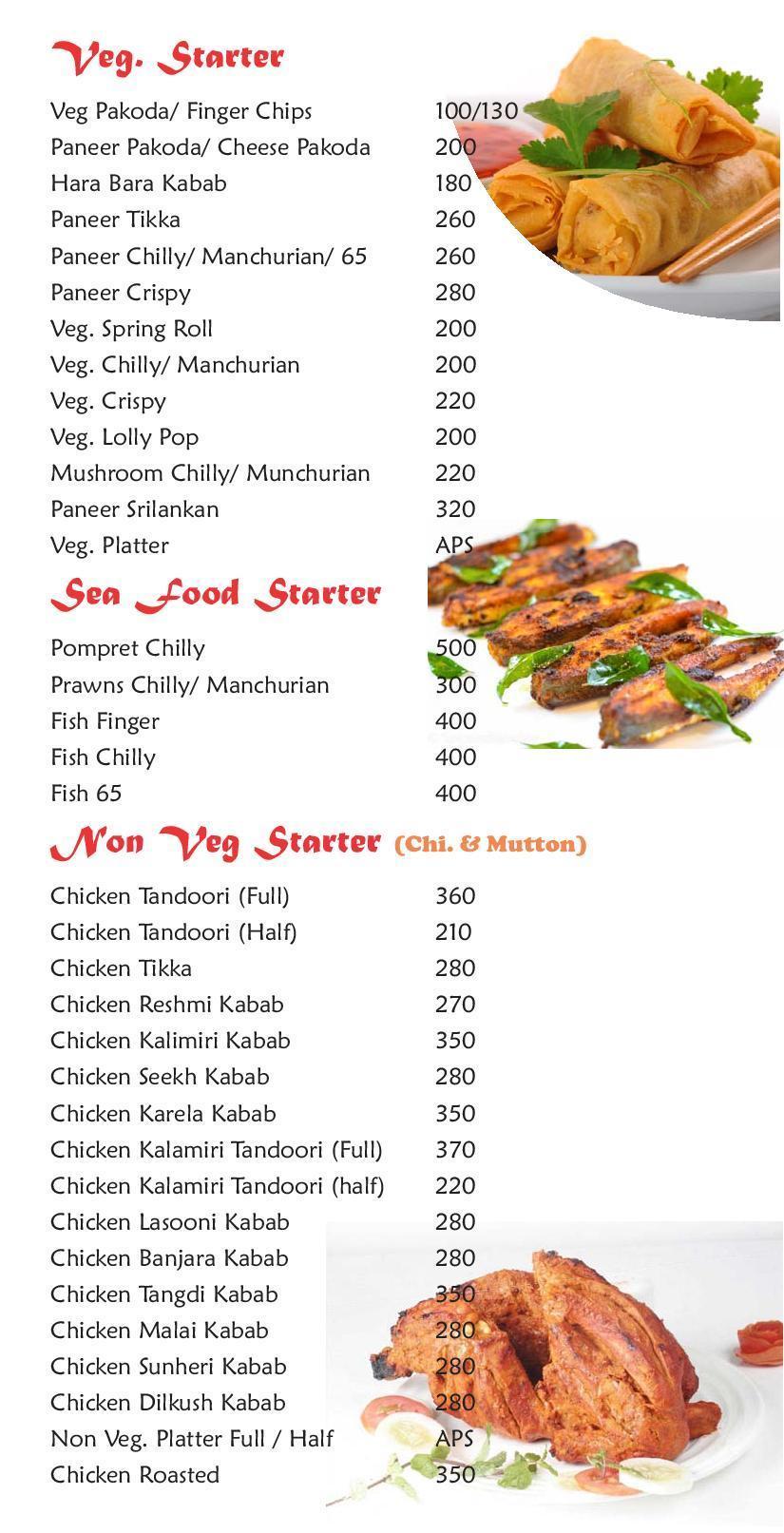 Sai Sannidhi Restaurant & Bar menu 6