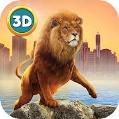 Lion in City: Predator Attack
