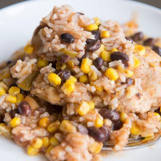 Spanish Chicken And Rice Bake