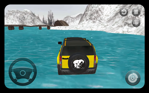 Snow Track: Offroad SUV Prado Driving Simulator 3D - náhled