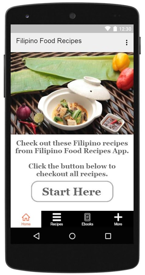 Filipino food recipes android apps on google play filipino food recipes screenshot forumfinder Gallery