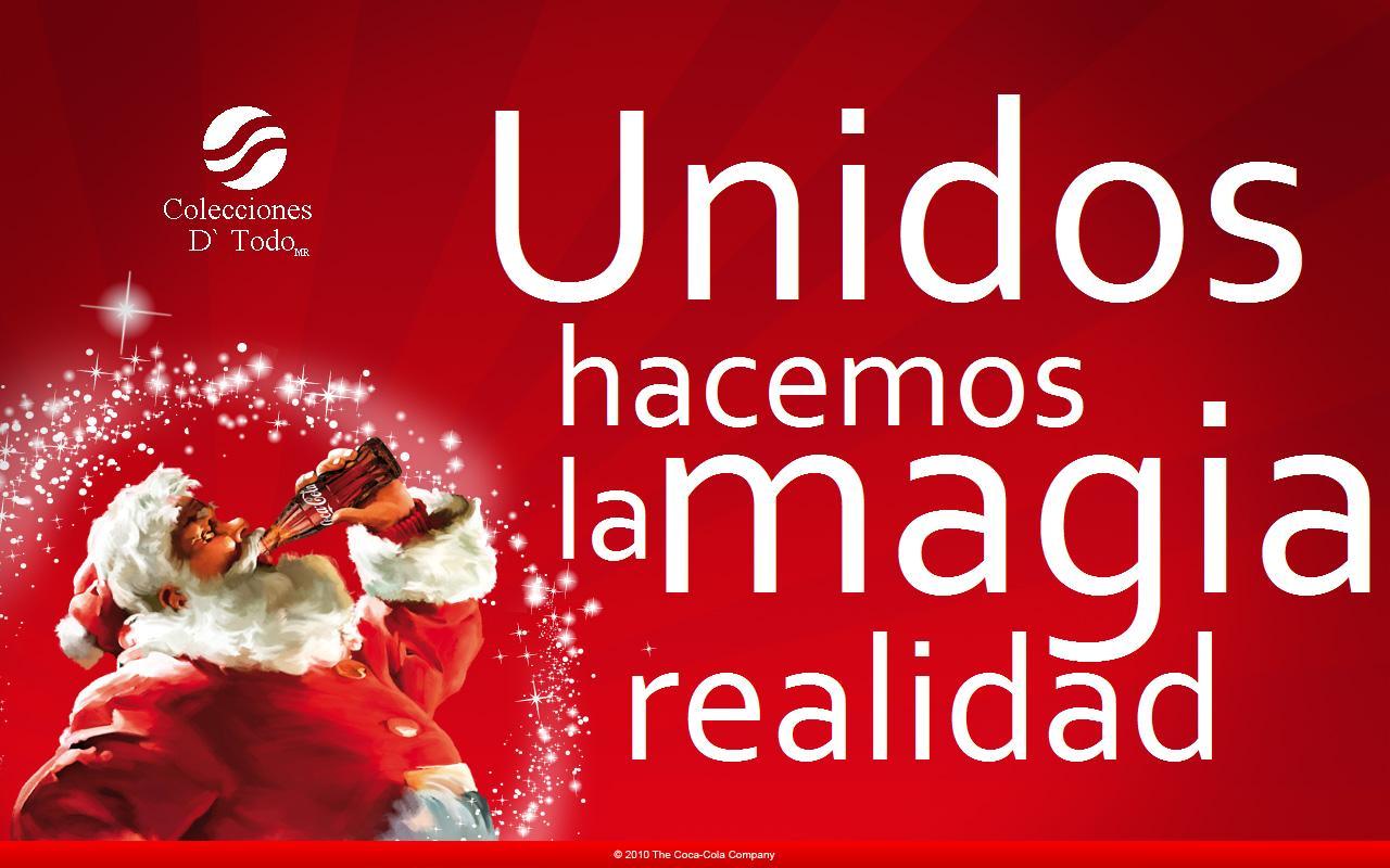 la magia de coca-cola navidad