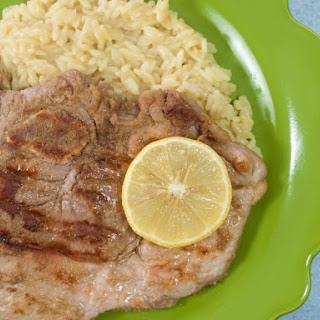 Lemonade Pork Steaks.