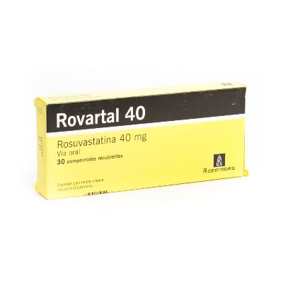 Rosuvastatina Rovartal 40 mg x 30 Comprimidos